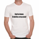 T-shirt humoristique L'alcool tue lentement..