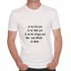 T-shirt humoristique Je ne bois pas, je ne fume pas, je ne me drogue pas...