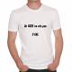 T-shirt humoristique Un geek ne crie pas... Il URL