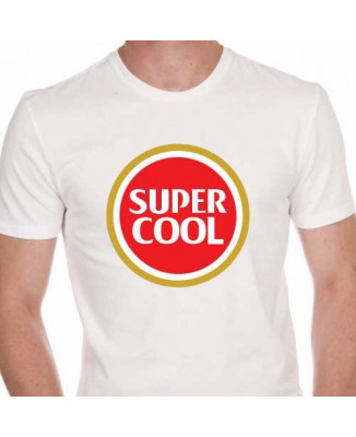 T-shirt Super Cool parodie Super Bock [230027]