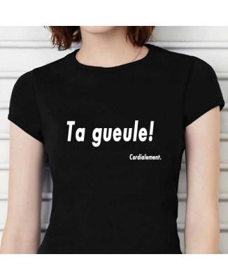 T-shirt humoristique Ta gueule [200255]