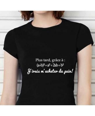 T-shirt humoristique Plus tard... [200288]