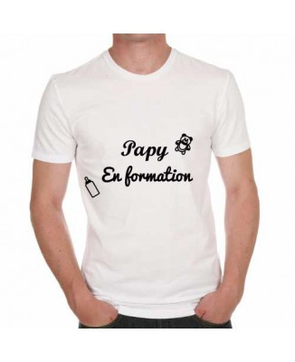 T-shirt Papy en formation!