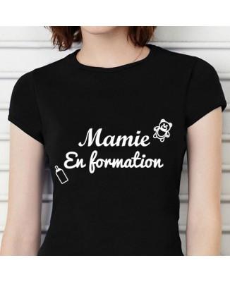 T-shirt humoristique Mamie en formation! [200298]