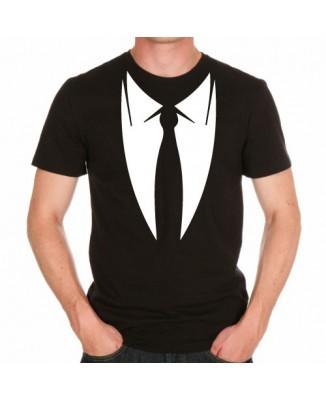 T-shirt Cravate