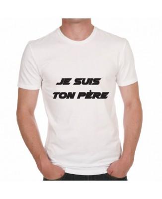 T-shirt humoristique Je suis ton père!