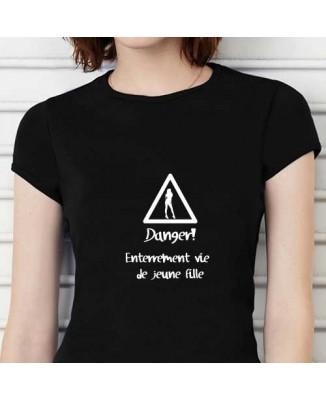 T-shirt humoristique Danger!