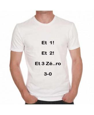 T-shirt humoristique Le chef c'est moi! [200364]
