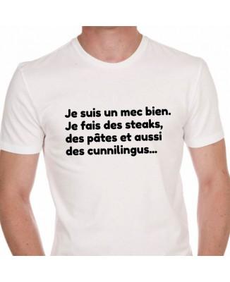 Tee shirt Homme Mec Bien