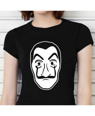 Tee shirt La Casa De Papel Masque