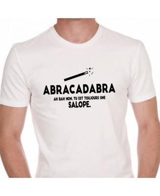 Tee shirt Humour ABRACADABRA