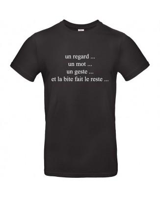 Tee shirt Un Regard, Un Mot, Un Geste...