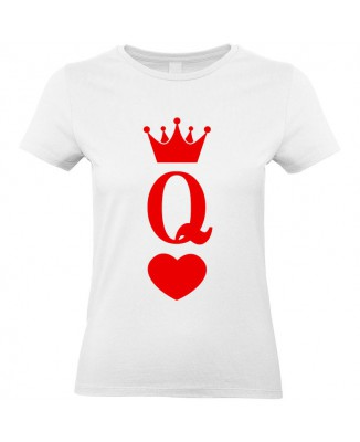 Tee shirt Reine Couronne (Queen)