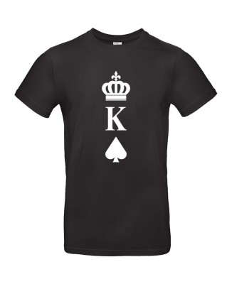 Tee shirt Roi Couronne (King)