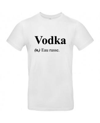 Tee shirt Définition Vodka Eau Russe