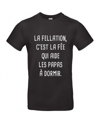 Tee shirt Fellation, la Fée des Papas