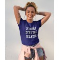 Tee-shirt France Fiers D'être Bleus
