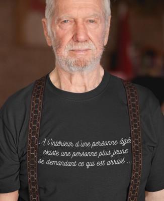 Tee-shirt Homme Personne Âgée