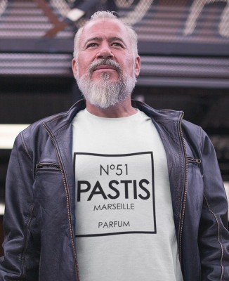 Tee-shirt Homme N°51 Pastis Marseille Parfum