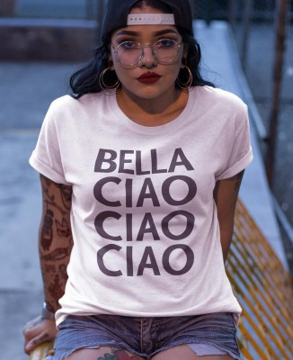 Tee shirt Femme Bella Ciao - Casa de Papel