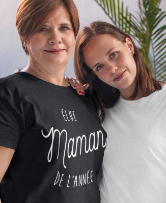 Tee shirt Élue Maman de l'Année
