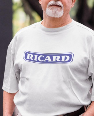 "T-shirt homme camping ""Ricard"""