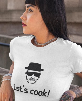 Tee shirt Femme Let's Cook ! Heisenberg Breaking Bad