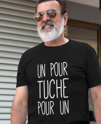 T-shirt Homme Un pour TUCHE pour Un