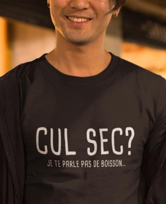 Tee shirt Cul Sec ?