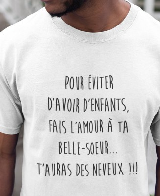 Tee-shirt Homme Faire l'Amour Belle-Soeur