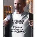 T-shirt Boire ou Conduire