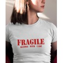 T-shirt Fragile - Handle with care