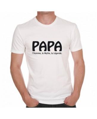 T-shirt Papa - L'homme, le mythe, la légende