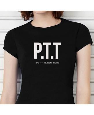 "T-shirt ""PTT petit téton tétu"""
