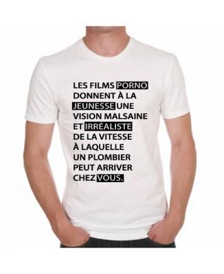 """T-shirt """"Les films pornos"""""""