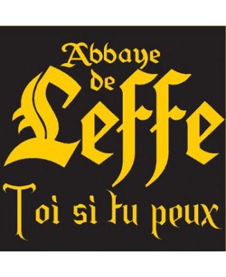 "T-shirt ""Abbaye de Leffe (toi si tu peux)..."""