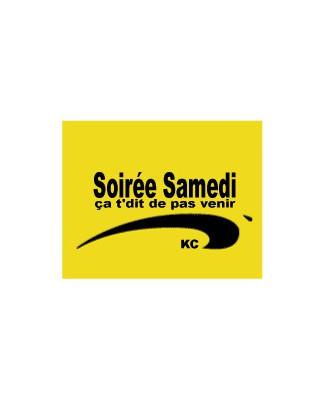"T-shirt humour ""Soirée samedi Brice de nice"""