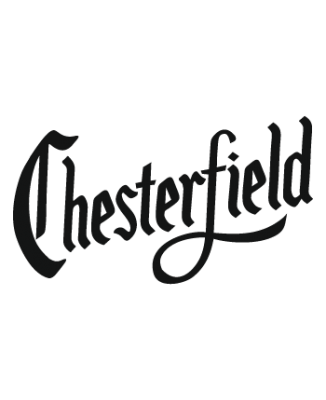 T-shirt cigarettes Chesterfield logo