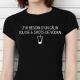 T-shirt J'ai besoin d'un câlin (ou de 6 shots de vodka)