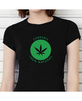 T-shirt humoristique Cannabis