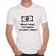 T-shirt humoristique Même froissé, toujours la même valeur!
