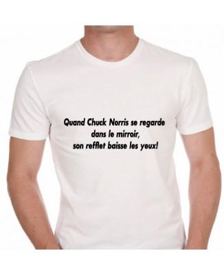 T-shirt humoristique Chuck Norris