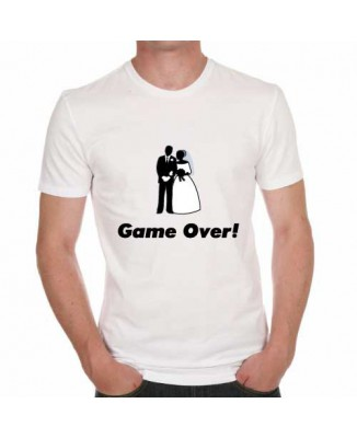 T-shirt humoristique Game over! [200248]