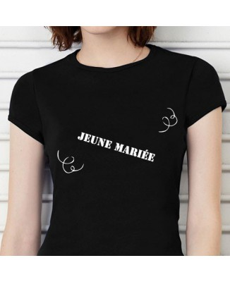 T-shirt humoristique Jeune mariée