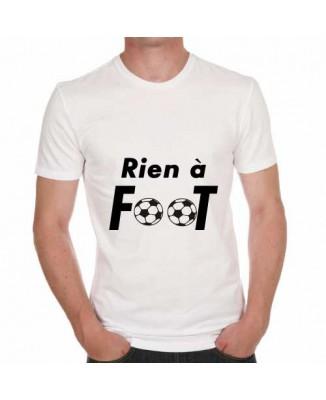 T-shirt humoristique Rien à foot!