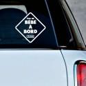 Sticker humour Pas de Bébé à Bord - Durex