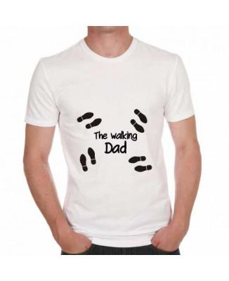 T-shirt humoristique The walking dad