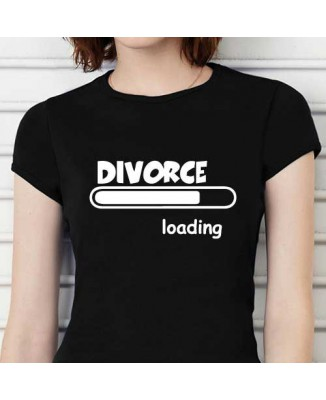 T-shirt humoristique Divorce