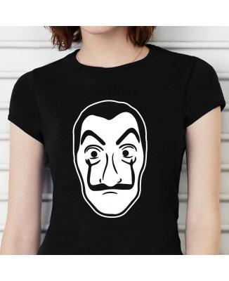 Tee shirt La Casa De Papel Masque Salvador Dali