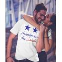 T-shirt France Champions du Monde 2 Etoiles